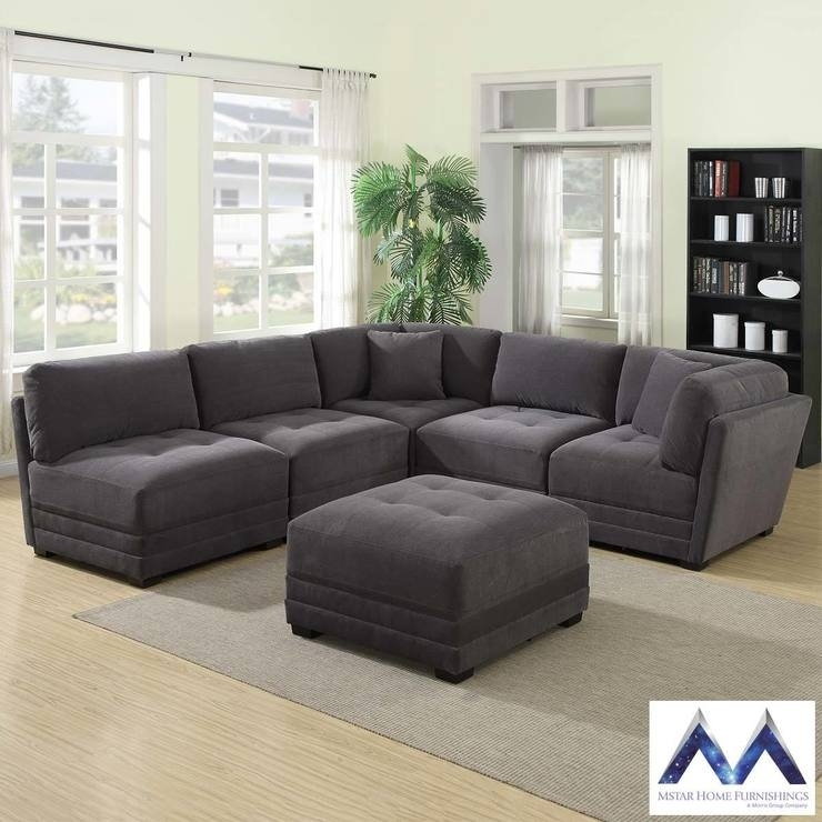 10 Inspirations Fabric Sectional Sofas Sofa Ideas
