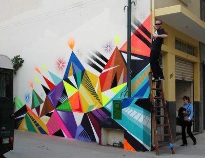 Mural Abstract Wall Art Design Ideas | Art: Street | Pinterest Pertaining To Abstract Graffiti Wall Art (Image 15 of 20)