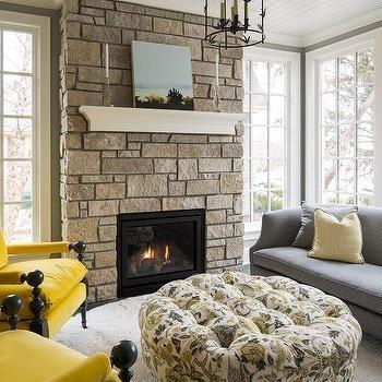 Mustard Yellow Sofa Design Ideas Regarding Yellow Sofa Chairs (Image 5 of 10)