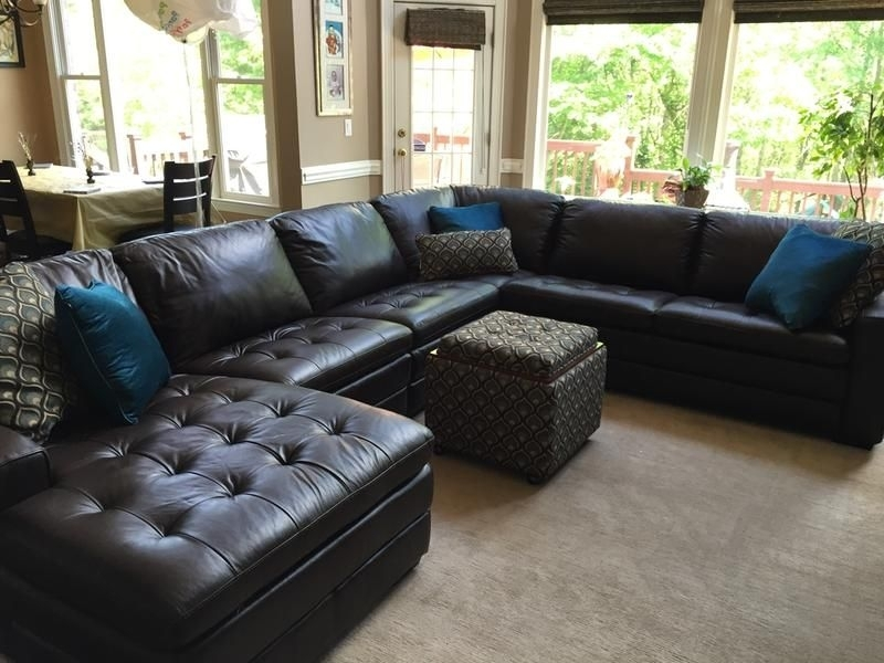 My New Sofa Sectional | Family Room | Pinterest | Basements, Room For Sectional Sofas At Havertys (View 5 of 10)