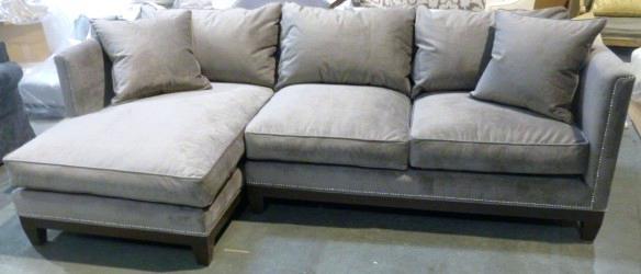 Nailhead Sectional Sofa U Love Custom Made In Furniture Sectionals With Sectional Sofas With Nailheads (View 4 of 10)