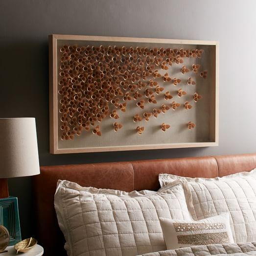 Nature Of Wood Wall Art – Cascade | West Elm With Abstract Nature Wall Art (Image 16 of 20)
