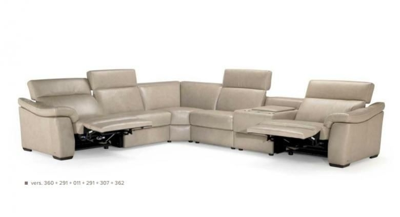 Natuzzi Editions B760 Leather Sectional Pertaining To Natuzzi Sectional Sofas (Image 5 of 10)