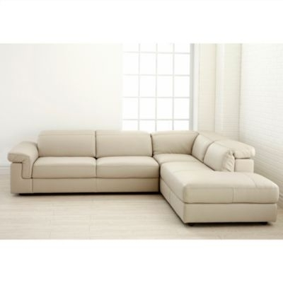 Natuzzi Editions™ Fontana Ii 3 Pc Sectional – Sears | Sears Canada For Sectional Sofas At Sears (Image 4 of 10)