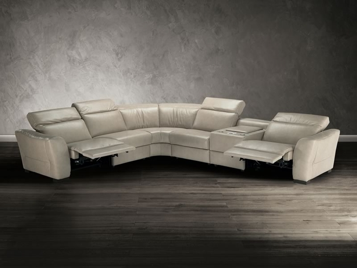 Natuzzi Editions Sectional Sofa B708 Modern Sectional Sofas Natuzzi Regarding Natuzzi Sectional Sofas (Image 6 of 10)