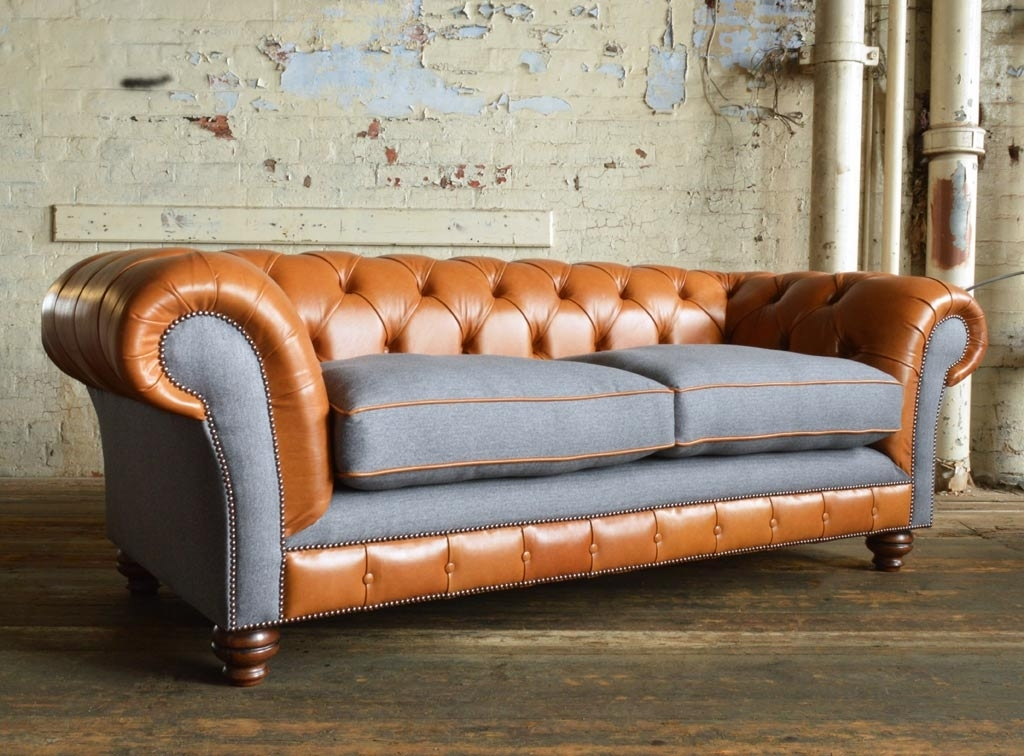 Naunton Leather Chesterfield Sofa | Abode Sofas With Regard To Chesterfield Sofas And Chairs (Image 8 of 10)