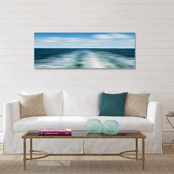 Nautical Wall Art, Canvas Triptych 3 From Katherine Gendreau Within Abstract Nautical Wall Art (Photo 4 of 20)