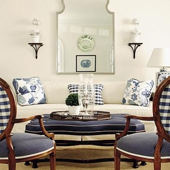 Navy Blue Sofa Design Ideas Throughout Blue Sofa Chairs (Image 7 of 10)