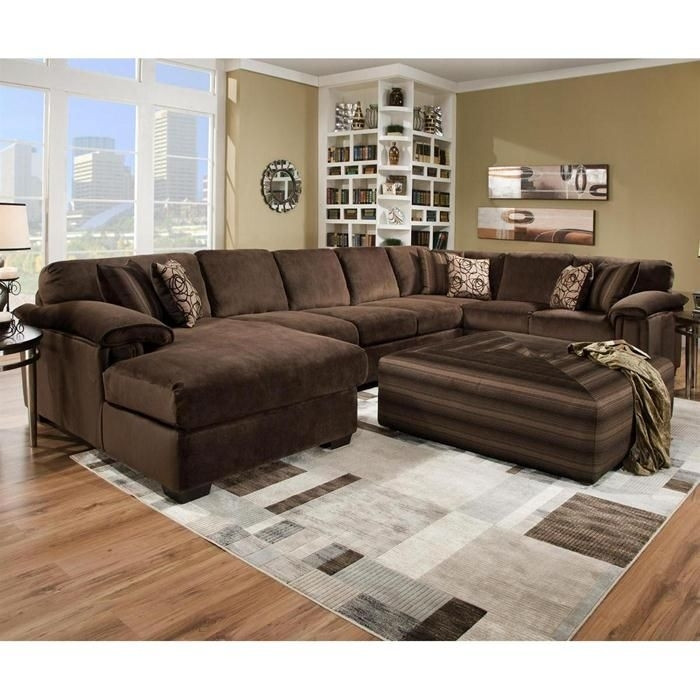 Nebraska Furniture Mart – Henderson 3 Piece Oversized Sectional Throughout Sectionals With Oversized Ottoman (Image 6 of 10)