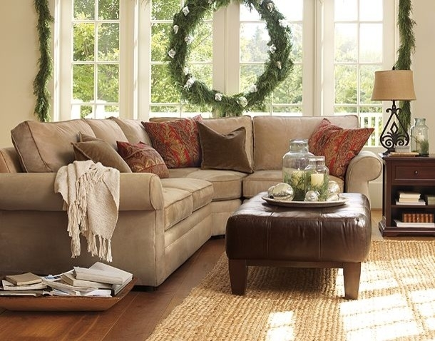 Neutral Couch Family Room | Pottery Barn – Traditional – Family Room Pertaining To Pottery Barn Sectional Sofas (Photo 5 of 10)