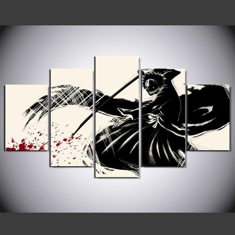 New 40+ Anime Wall Art Design Ideas Of Aliexpress : Buy Japanese Pertaining To Anime Canvas Wall Art (Photo 12 of 20)