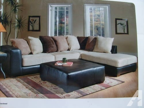 New And Used Furniture For Sale In Level Cross, North Carolina – Buy Within Leather And Suede Sectional Sofas (Image 4 of 10)