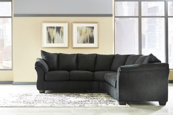 New Black Sectional Couch (Furniture) In Virginia Beach, Va – Offerup For Virginia Beach Sectional Sofas (Image 8 of 10)
