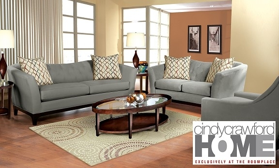 New Cindy Crawford Furniture At The Roomplace – Chicagoland's In Cindy Crawford Sofas (Image 8 of 10)