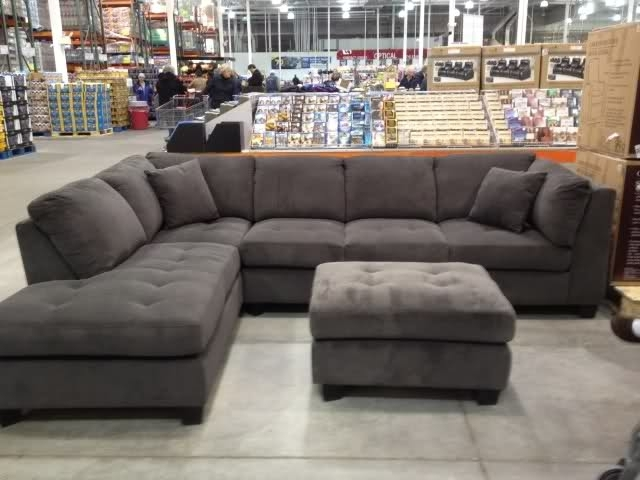 New Gray Sectional Sofa Costco 85 For Your Sofas And Couches Ideas Intended For Sectional Sofas At Costco (View 5 of 10)