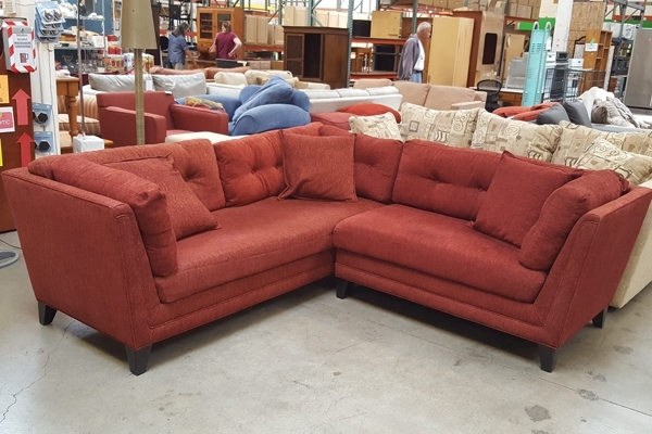 New! Johnathan Louis Sectional Couch | Habitat For Humanity Restore With East Bay Sectional Sofas (Image 8 of 10)