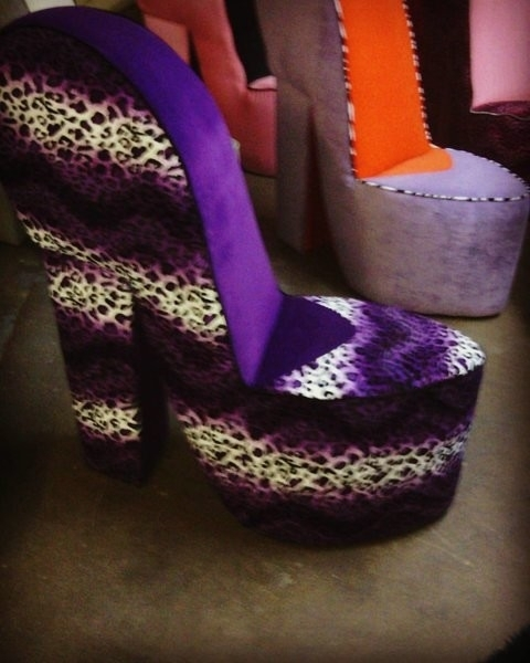 New Leopard Shoe Chair – Interior Inside Heel Chair Sofas (Image 6 of 10)