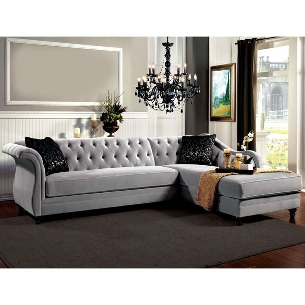 New Tufted Sectional Sofas 57 With Additional Office Sofa Ideas With Regarding Tufted Sectional Sofas (Image 5 of 10)