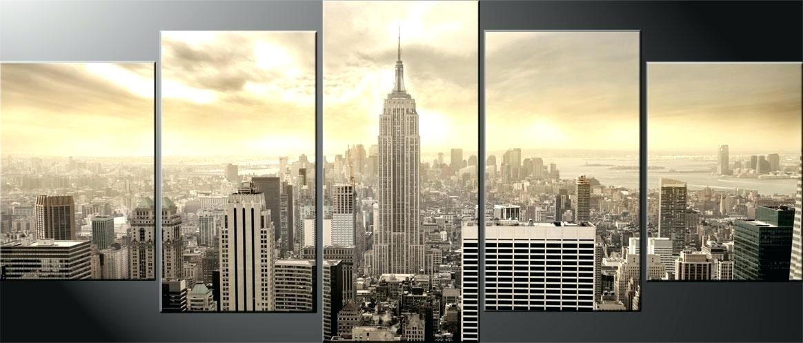 New York City Wall Art Featured Image Of New City Canvas Wall Art Inside Canvas Wall Art Of New York City (View 2 of 20)