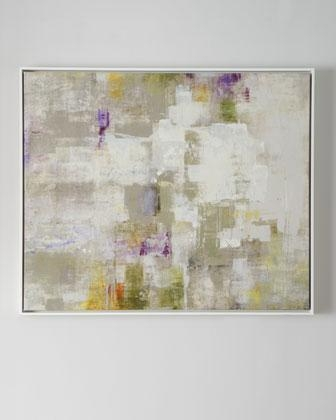 Next' Framed Abstract Art – Neiman Marcus For Neutral Abstract Wall Art (Photo 9 of 20)