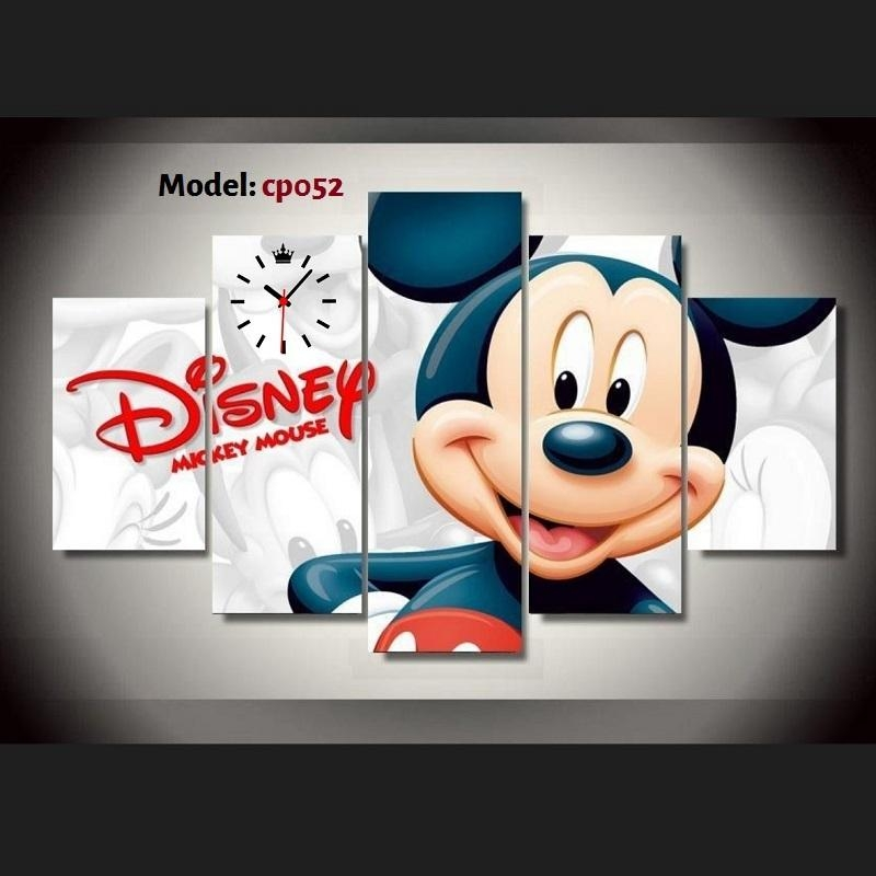 Nibsonmall Home Decoration And Furniture Products Throughout Mickey Mouse Canvas Wall Art (Photo 16 of 20)