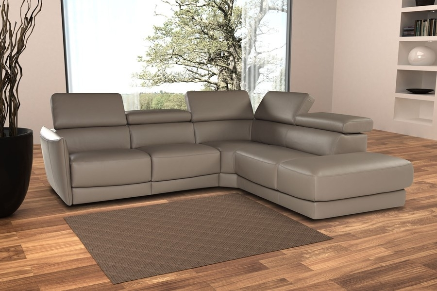 Nicoletti Camilion Sectional Sofa With Electric Recliner, Nicoletti With Sectional Sofas With Electric Recliners (Image 2 of 10)