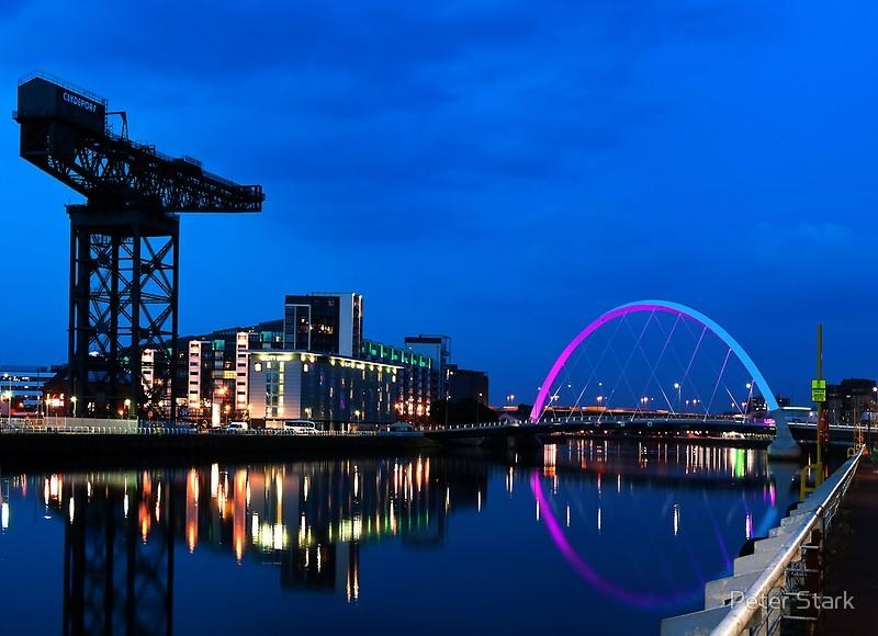 Night Reflections – Glasgow Titan And Squinty Bridge (Image 13 of 20)