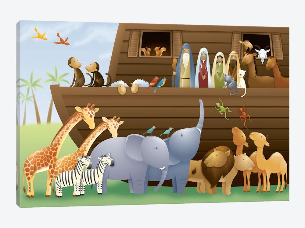 Noah's Ark Canvas Art | Icanvas For Canvas Wall Art At Wayfair (Image 13 of 20)