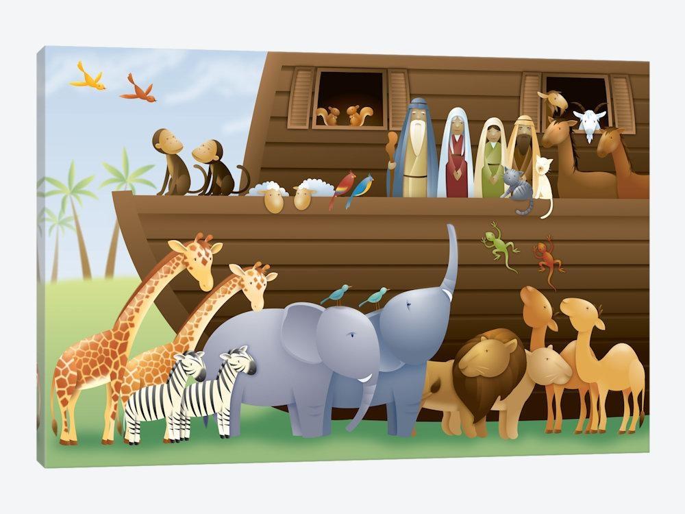 Noah's Ark Canvas Art | Icanvas For Canvas Wall Art At Wayfair (View 5 of 20)