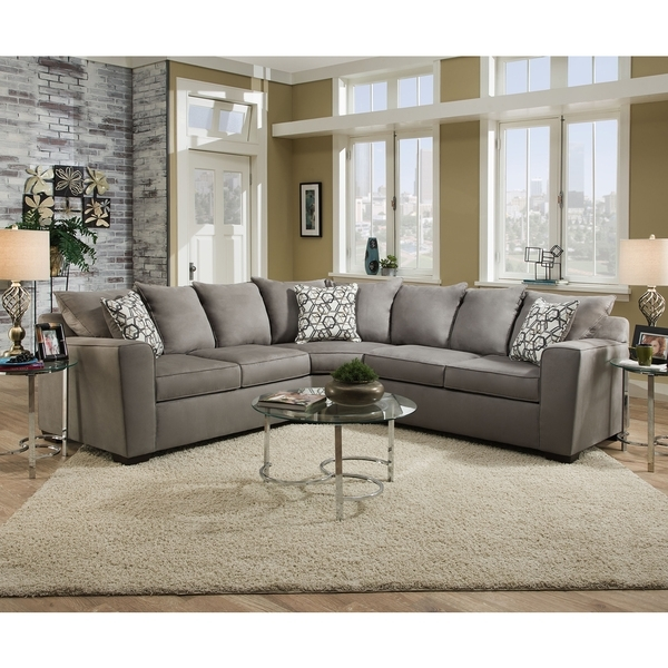 Note Gray Couch With Tan Walls (View 10 of 10)