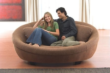 Ocean Tamer Large Round Marine Bean Bag – Marine Beanbag Chairs And Pertaining To Big Round Sofa Chairs (Image 4 of 10)