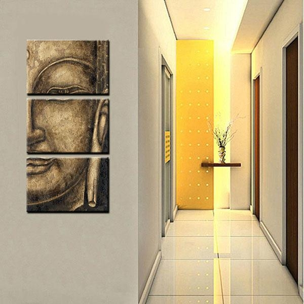 Oem Customized Framed Canvas Art Prints Buddha Wall Art Canvas In Johannesburg Canvas Wall Art (Image 16 of 20)