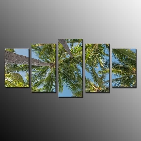 Oem Factory For Large Canvas Print Wall Art Painting Picture Palm Regarding Canvas Wall Art Of Philippines (Image 10 of 20)