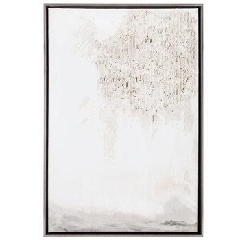 Off White Abstract Canvas Wall Decor With Glitter | Hobby Lobby With Regard To Hobby Lobby Abstract Wall Art (Image 16 of 20)
