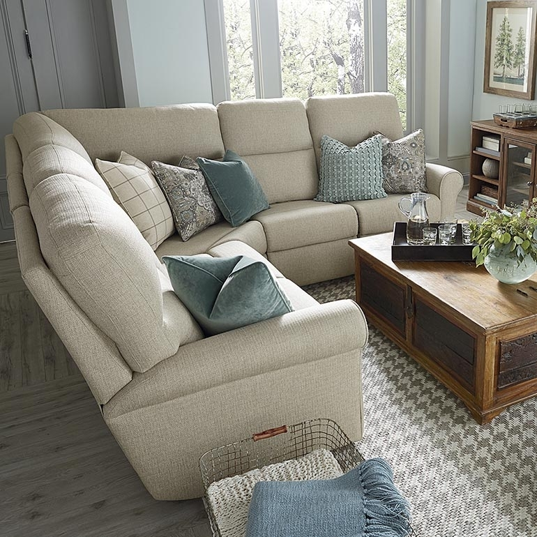 Off White L Shaped Sectional Regarding Sectional Sofas At Bassett (View 7 of 10)