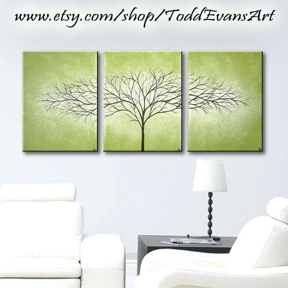 Olive Green Wall Art – Boyintransit Throughout Olive Green Abstract Wall Art (Image 14 of 20)