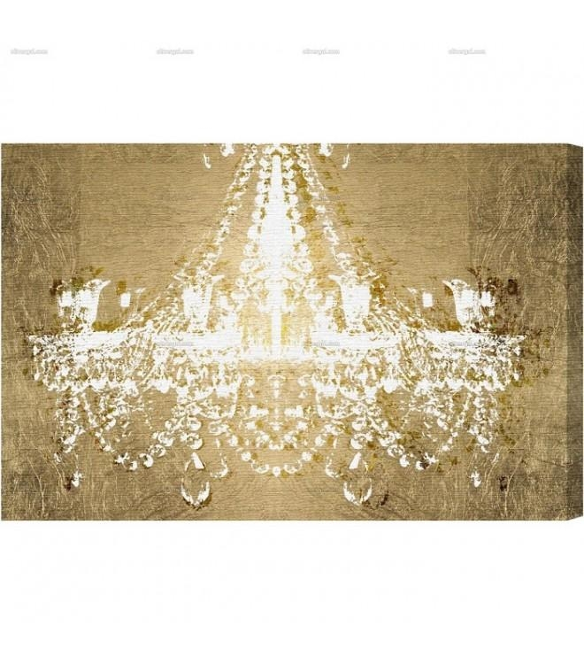 Featured Image of Chandelier Canvas Wall Art