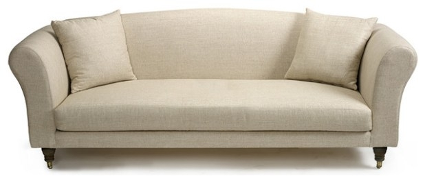 One Cushion Couch One Cushion Sofa Pros And Cons Minimalist Long In One Cushion Sofas (Image 4 of 10)