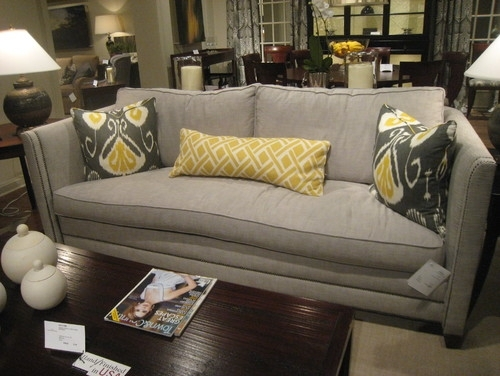 One Cushion Sofas – Materialwant (Image 6 of 10)