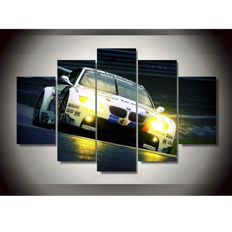 Online Get Cheap Bmw Printing  Aliexpress | Alibaba Group In Bmw Canvas Wall Art (Image 19 of 20)