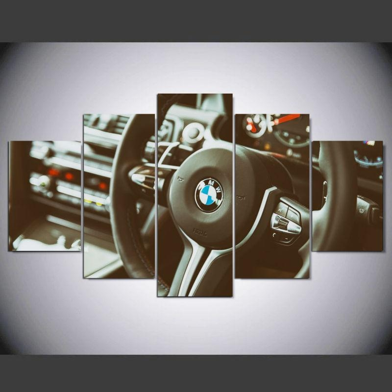 Online Get Cheap Bmw Printing  Aliexpress | Alibaba Group With Bmw Canvas Wall Art (Image 20 of 20)