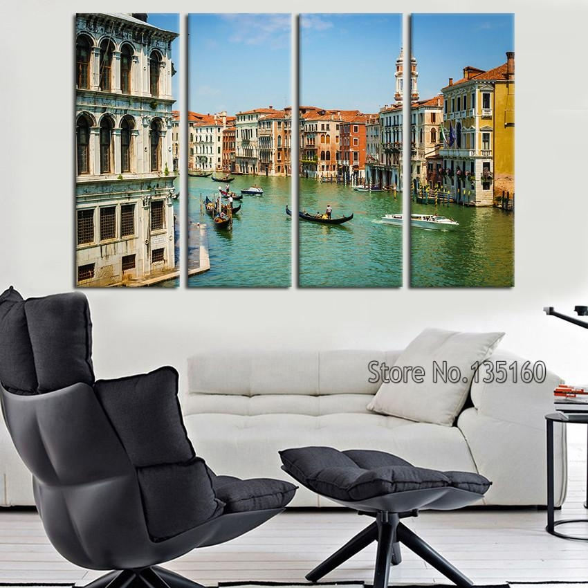 Online Get Cheap Wall Art Canvas Italy  Aliexpress | Alibaba Group Intended For Canvas Wall Art Of Italy (Image 17 of 20)