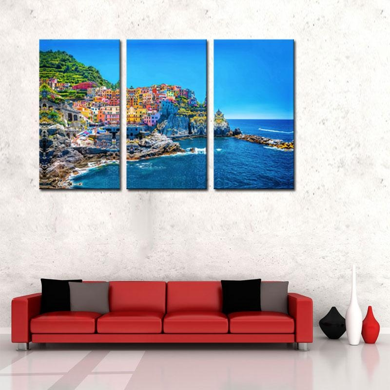 Online Get Cheap Wall Art Canvas Italy  Aliexpress | Alibaba Group Intended For Canvas Wall Art Of Italy (Image 16 of 20)