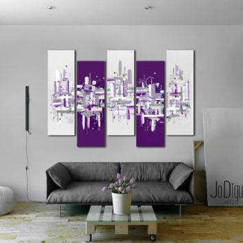 Original Abstract Painting (View 4 of 20)