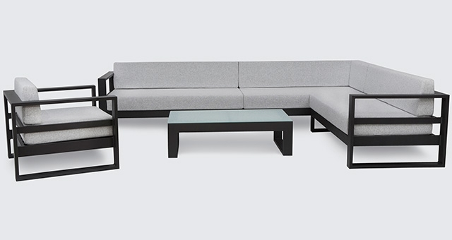 Outdoor Furniture | Table, Chairs, Sofa – Design Concepts Pertaining To Outdoor Sofa Chairs (Image 10 of 10)