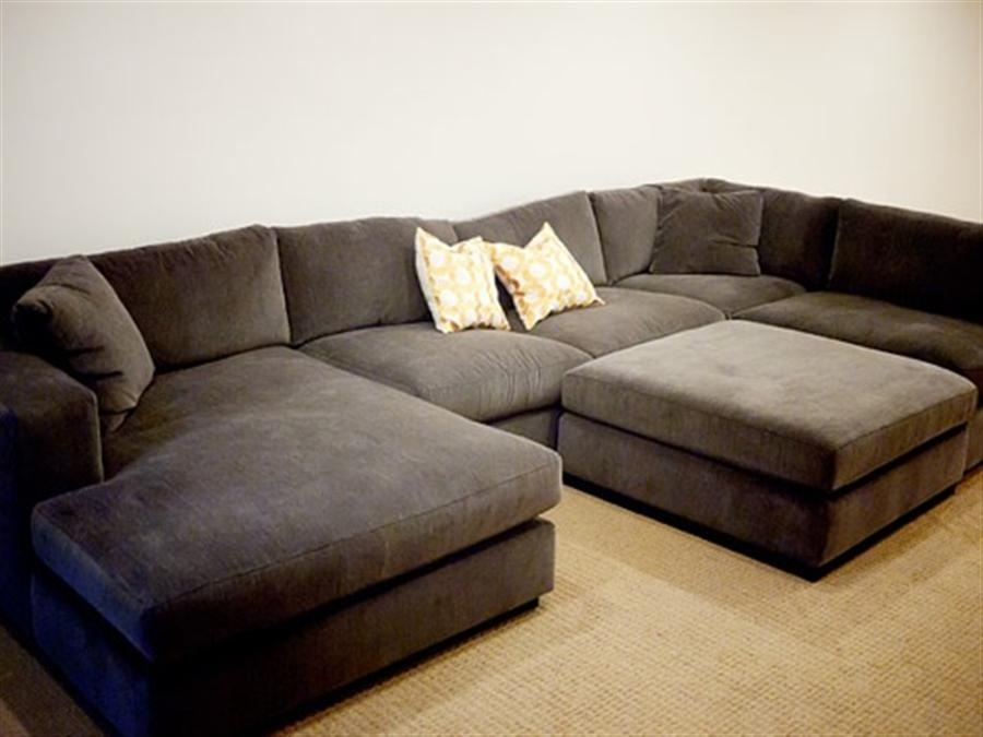 Outstanding Big Sectional Sofas Throughout Extra Wide Sofa Regarding Inside Wide Sectional Sofas (Image 7 of 10)