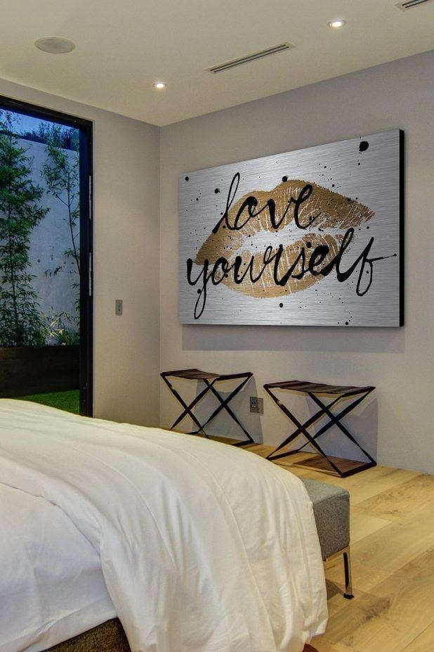 Outstanding Gold Canvas Art 17 Canvas Wall Art Gold Coast Love In Gold Coast Canvas Wall Art (Image 16 of 20)