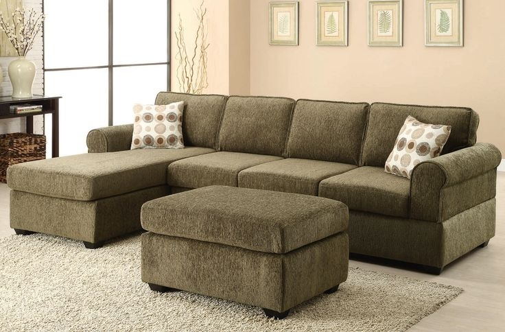 Oval Grey Modern Wooden Tables Olive Green Sectional Sofa As Well As With Green Sectional Sofas (Image 7 of 10)
