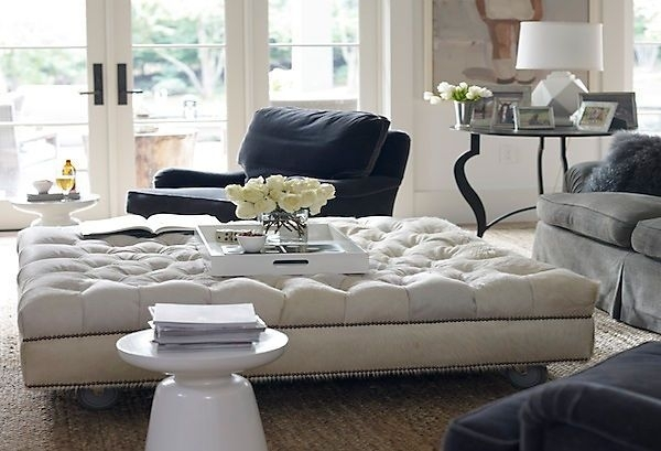 Oversized Ottoman – Google Search | Ednam | Pinterest | Oversized Pertaining To Couches With Large Ottoman (Image 5 of 10)