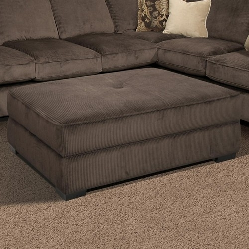 Oversized Sectional |  Furniture > Ottoman > Fairmont Seating Regarding Couches With Large Ottoman (Image 6 of 10)
